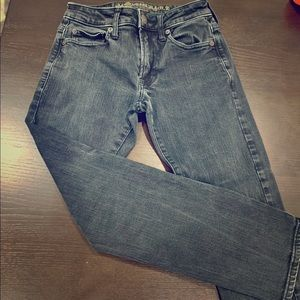 Boys American Eagle Slim Straight jeans